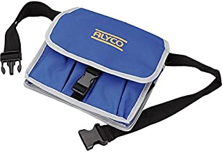 Alyco 196880 - Bolsa de nylon con cierre rapido y cinturon