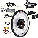 Fetcoi Kit de conversión para bicicleta eléctrica de 1000 W de 26 pulgadas, 48 V