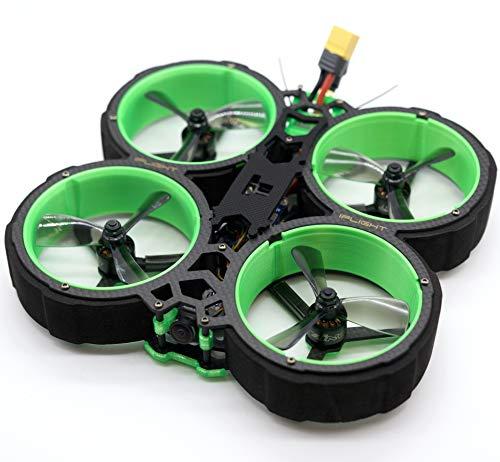 iFlight CineWhoop Green Hornet FPV Racing Drone 3inch SucceX-E Mini F4 Flight Controller 35A 4-6S ESC | Analogic Videocamera FRSky XM transmitter