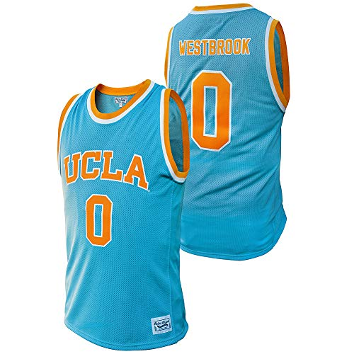 Elite Fan Shop Russell Westbrook Retro UCLA Basketball Jersey - XX-Large - Russell Westbrook Blue