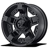 xd rockstar wheels 17 - XD SERIES BY KMC WHEELS XD811 ROCKSTAR II Matte Black Wheel with Painted and Chromium (hexavalent compounds) (20 x 9. inches /0 x 78 mm, -12 mm Offset)