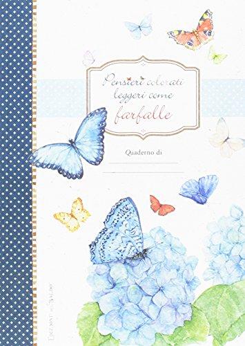 Pensieri colorati come farfalle