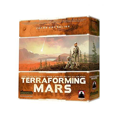 RWX Terraforming Mars Hoe Land Board Juego, Cultiva La Capacidad De Pensamiento...