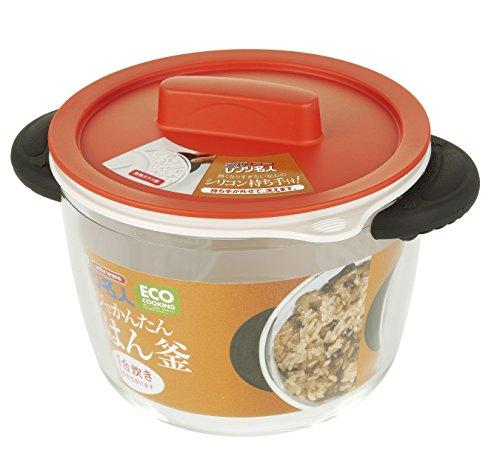 magnetron voor het koken van glas Unix rijstkoker Oranje 4548 (geïmporteerd uit Japan?n/verpakking en handleiding zijn in Japan geschreven?s)