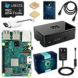 LABISTS Raspberry Pi 3 Model b ラズベリーパイ 3 b+ MicroSDHCカード32G/NOOBSシステムプリインストール/カードリーダ /5V/3A スイッチ付電源/高品質HDMIケーブルライン/ヒートシンク/簡単に取り付けケース/日本語取扱説明書/24ヶ月保証
