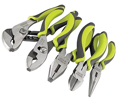 Piece Craftsman Evolv 5 Pliers Set Plier Needle New Nose Tool Pc Green Tools ;P#O455K5/U 7RK-B226620