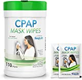 RespLabs Medical CPAP Mask Cleaning Wipes - [110 Pack Plus 2 Travel...
