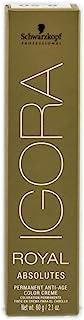 Schwarzkopf Professional Igora Royal Absolutes Hair Color, 7-71, Medium Blonde Copper Cendre, 2.1 Ounce