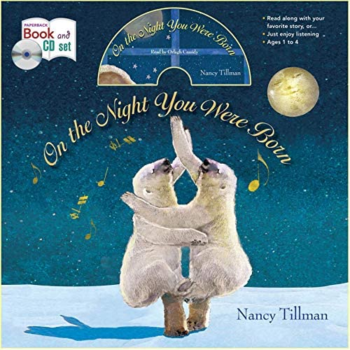 On the Night You Were Born book and CD storytime set product image