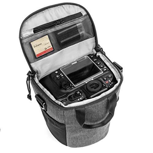 【国内正規品】 tamrac ズームバッグ TRADEWIND Zoom 2.4 小型一眼レフ/ミラーレスカメラ用 グレー 2.4L 040209