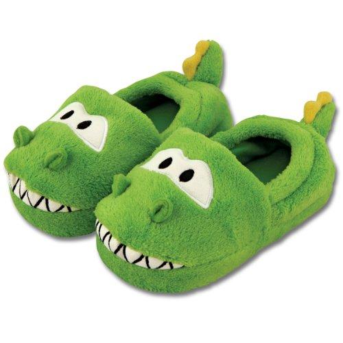 Stephen Joseph baño Zapatillas de Andar por casa en los Dinosaurios-Design Talla L