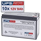 12V 9AH Battery Replacement for...