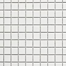 Mozaïektegel keramiek wit glanzend voor muur badkamer toilet douche keuken tegelspiegel tegelverkleeding badkuip mozaïekma...