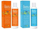 Organic Shampoo and Conditioner Set – Argan Oil Shampoo and Hair Conditioner - Herbal Hair...