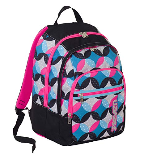 Seven Fit Backpack - Bunny Zainetto per bambini, 42 cm, 28 liters, Nero (Noir)