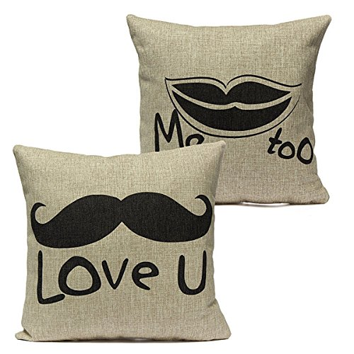 BAZAAR Lovely Lover Couvre-lit Taie d'oreiller Housse de coussin Home Decor Cadeau de mariage