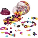 500-Piece B. Toys Pop Snap Bead Jewelry Kit