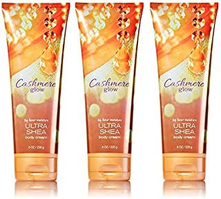 Lot of 3 Bath & Body Works Cashmere Glow 8.0 oz Ultra Shea Body Cream