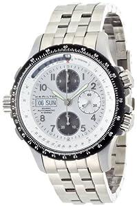 Hamilton Men's H77626153 Khaki King Silver Dial Watch