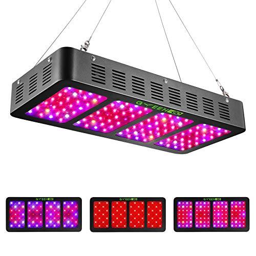 Best Triple Chips LEDs: Switch GREENGO 3 Chips LED Grow Lights Full Spectrum