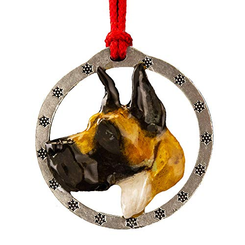 Creative Pewter Designs Great Dane Hand Painted Ornament, DP094OR