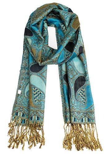 Van Der Rich ® - Pashminas Schal - Damen (Blau)