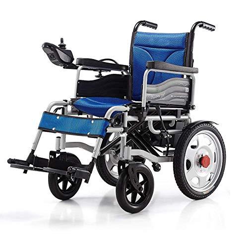 CYGGL Elektrorollstuhl Faltbarer, Leichter, langlebiger Rollstuhl, sicher und einfach zu fahrende Rollstühle