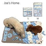 Joe's Home Dog Snuffle Mat for Small Large Dogs, Dog Nosework Blanket, Dog Toy Mat, Nose Work Mat for Dogs, Dog Play Mat Sniffing Training Pad Fun Mats, Great for Stress Release