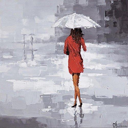 Donna di puro dipinti a mano olio pittura ritratto città pittura decorativa Hotel