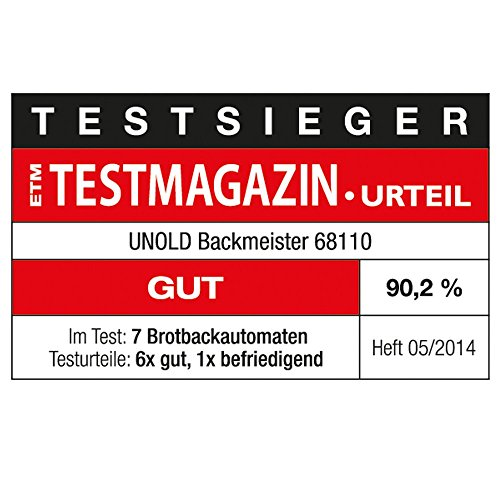 Unold 68110 Backmeister / Backautomat - 6