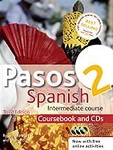 pasos 2الإصدار الثالث مراجعة الإسبانية المتوسطة أثناء التدريب: coursebook و cds