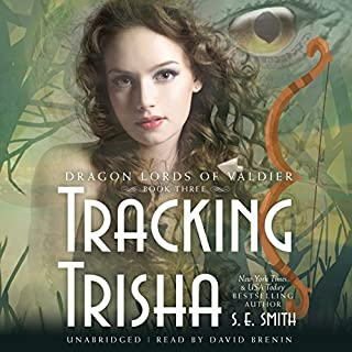 Tracking Trisha audiobook cover art