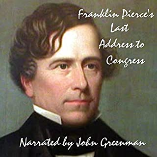 Franklin Pierce's Last Address to Congress cover art