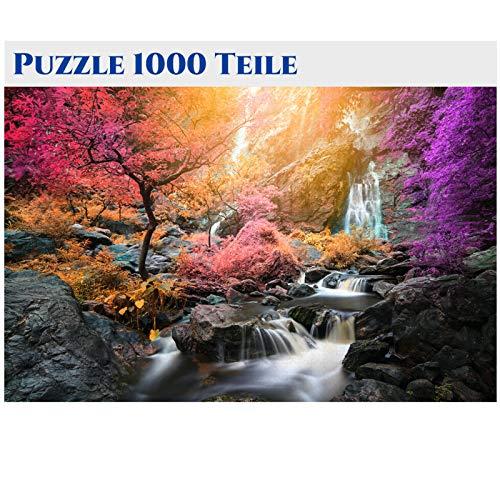 Puzzle 1000 Teile,Puzzle Erwachsene Anspruchsvoll,Geschicklichkeitsspiel für Die Ganze Familie, Puzzle Holz Wooden Puzzle für Puzzle Kinder Mit Architekturmuster, Erwachsenenpuzzle ab 8 Jahren-10