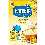 Nestle Papilla 8 Cereales Con Miel Y Bífidus