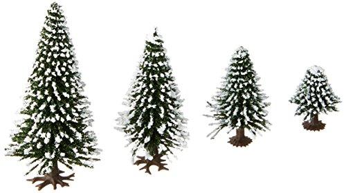 NOCH 32828 - Schneetannen, 25 Stück, 3.5-9 cm hoch