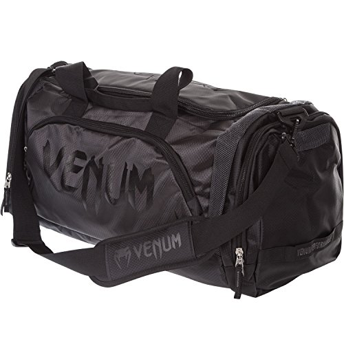 Venum Challenger Trainer Lite Sports Duffel Bag, Noir/Noir, Gym, Casual, 57L