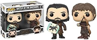 Funko Pop! Game of Thrones - Jon Snow & Ramsay Bolton, Battle of The Bastards 2 Pack Collectible Figure
