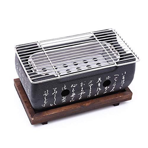 OOPP Japonesa de aleación de Aluminio de Corea del Horno de leña Parrilla de Barbacoa Parrilla portátil para Fiestas Productos Herramientas Hogar Barbacoa