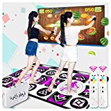 KAXIMON Alfombra de Baile, versión actualizada, Regalos de cumpleaños para niños, Incluye Juegos...
