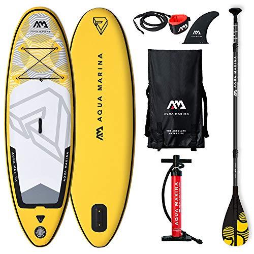 """Aqua Marina 05.405.00 Aquamarina Unisex Paddle Board für Jugendliche, bunt, 244 x 71 x 10 cm, Multi coloures, 244cm x 71cm x 10cm 8\'0\"""" x 28\"""" x 4\"""""""