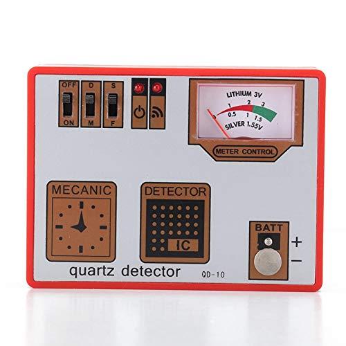 Detector de funcionamiento de herramienta de reparación de mesa duradera, para reloj, para relojero