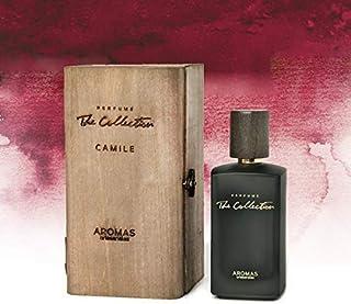 AROMAS ARTESANALES - Eau de Parfum Camile | Perfume con vaporizador para Hombres | Main olfactory notes oud wood and amber...