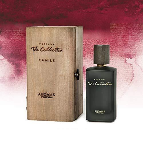 AROMAS ARTESANALES - Eau de Parfum Camile | Perfume con vaporizador para Hombres | Main olfactory notes oud wood and amberFragancia Masculina 100 ml | Notes o