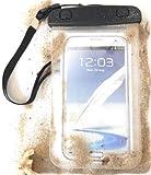 PRESKIN - Wasserfeste Tasche bis 5.7 Zoll Bildschirm, Wasserdichte Smartphone Schutzhülle / Handy Hülle (Beachbag5.7