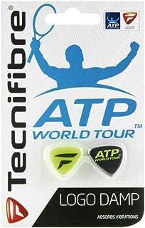 Baoblaze 18 x Anti-Vibrateurs pour Raquettes de Tennis Amortisseurs de Vibrations Design Ying Yang Accessoire Cadeau Tennis