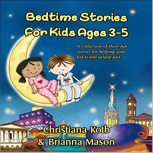 Bedtime Stories for Kids Ages 3-5 cover art