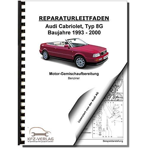 Audi Cabriolet (93-00) Digifant Einspritz- Zündanlage 115 PS Reparaturanleitung