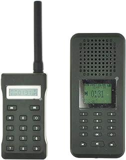 comprar comparacion Llamador de aves con reproductor mp3 y altavoz de 20W y 126 dB, incluye pantalla LCD, mando a distancia y temporizad...