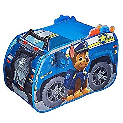 Paw Patrol Chase's Police Truck Pop Up Play Tent